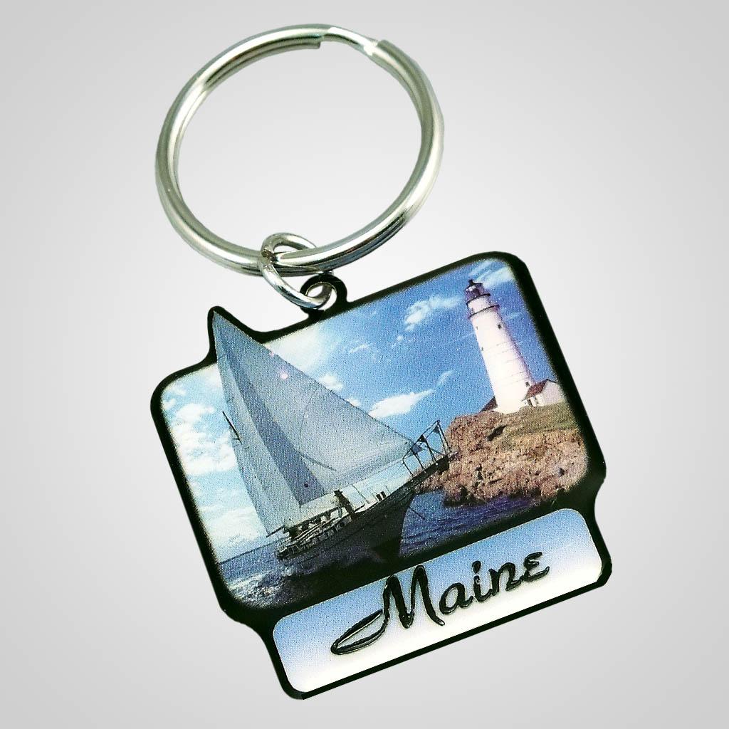 18103 - Nautical Keychain, Name-Drop
