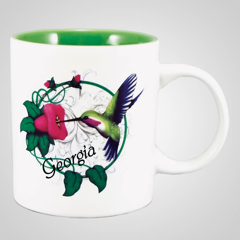18275PP - Hummingbird Mug, Name-Drop