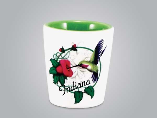 18277PP -  Hummingbird Shot Glass