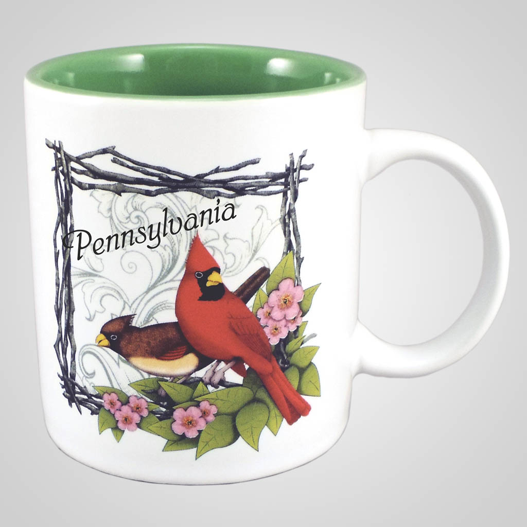 18292PP - Cardinal Mug, Name-Drop