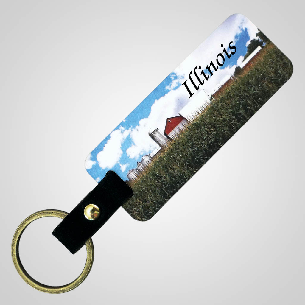 18304 - Full Color Farm Keychain, Name-Drop