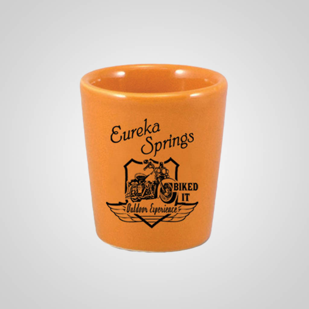 18332PP - Orange Shot Glass - 1 Color Print