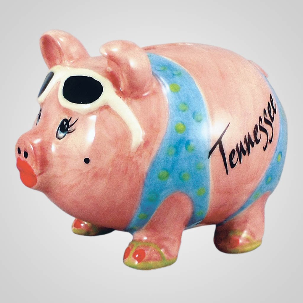 18467PP - Glammie Hammie Piggy Bank, Name-Drop
