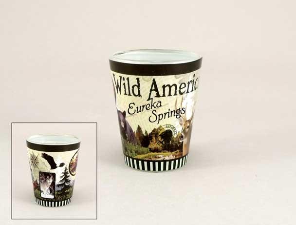 18473PP - Wilderness Full - Wrap Shot Glass