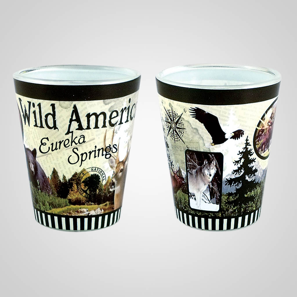 18473PP - Wilderness Full - Wrap Shot Glass