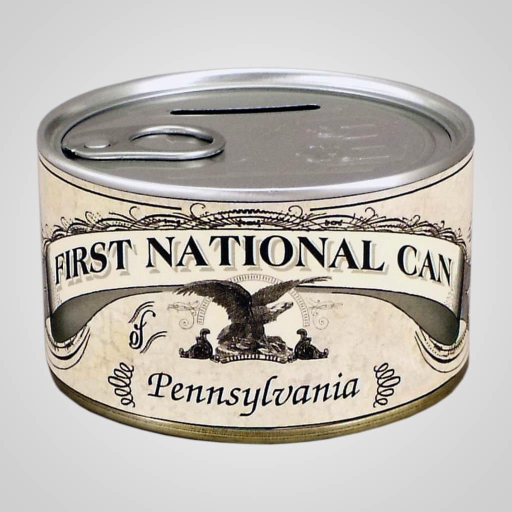18480 - Money-Design Tin Coin Bank, Name-Drop