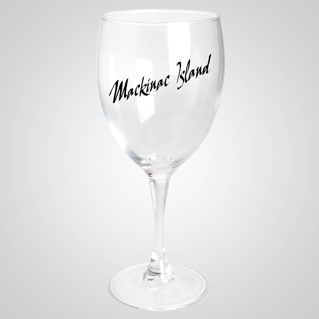 18858PPM - 10.5 oz. Stemmed Wine Glass - Multi - Color Print