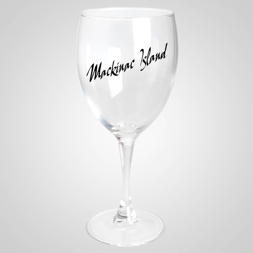 18858PP - Stemmed Wine Glass, 1 Color Print