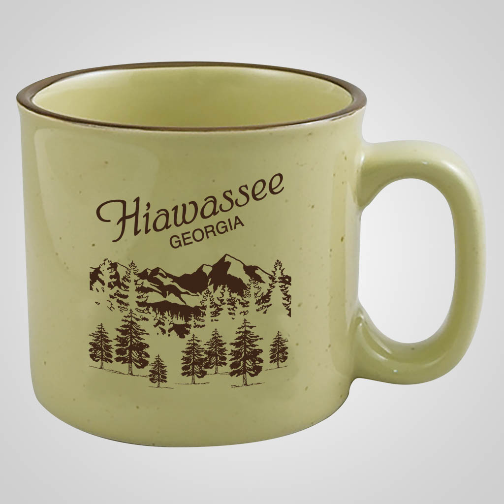 18864PP - Campfire Mug - 1 Color Imprint