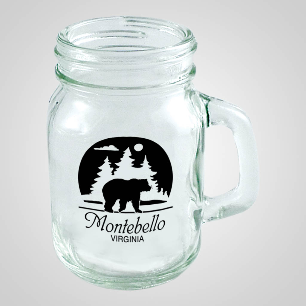 18868PP - Mini Mason Jar Mug - 1 Color Print