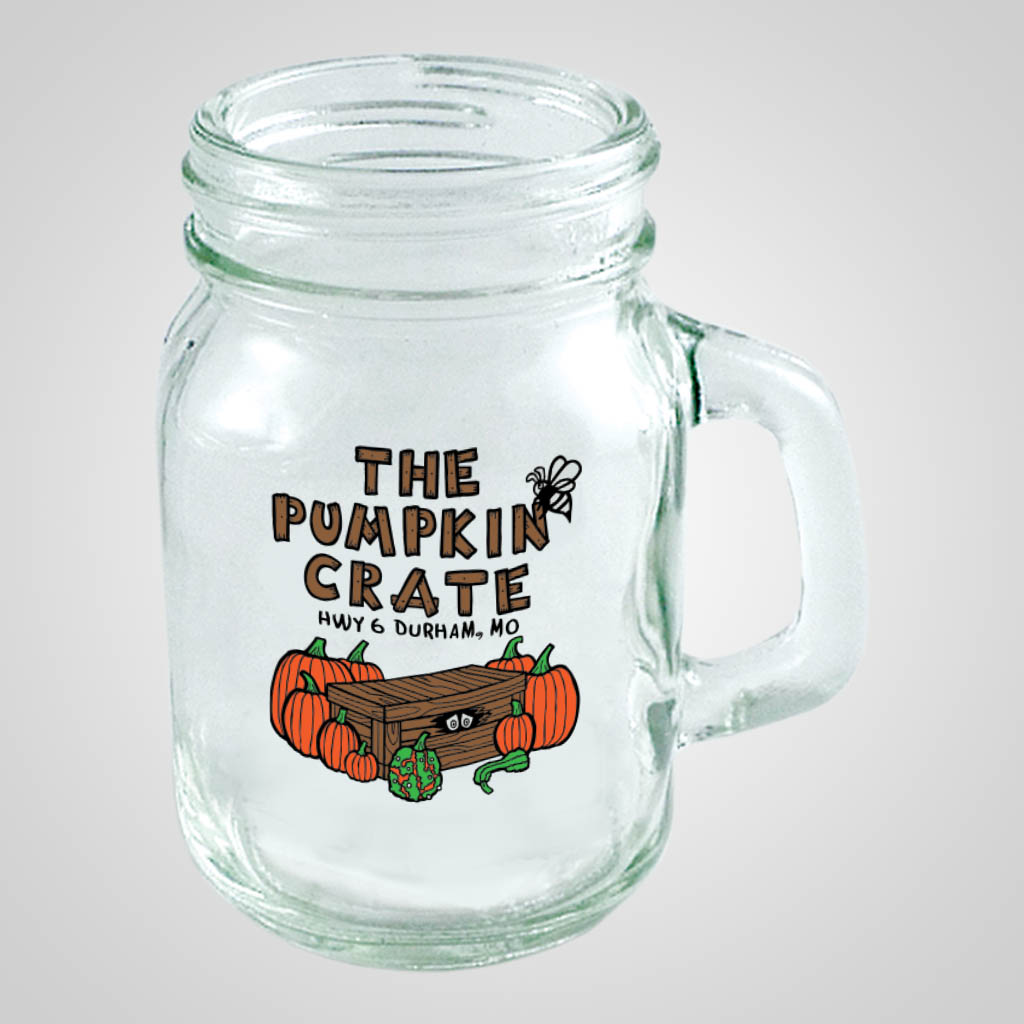 18868PPM - Mini Mason Jar Mug - Multi - Color Print