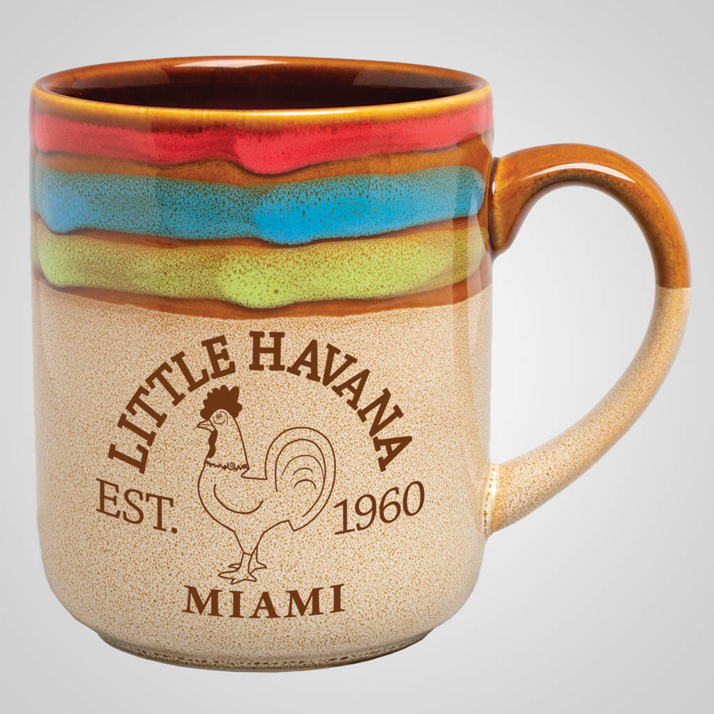 18883PP - Rainbow Top Mug, 1 Color Print