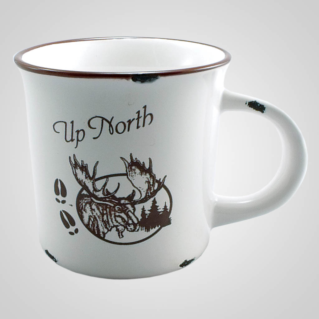 18899PP - Distressed Finish Mug - 1 Color Print
