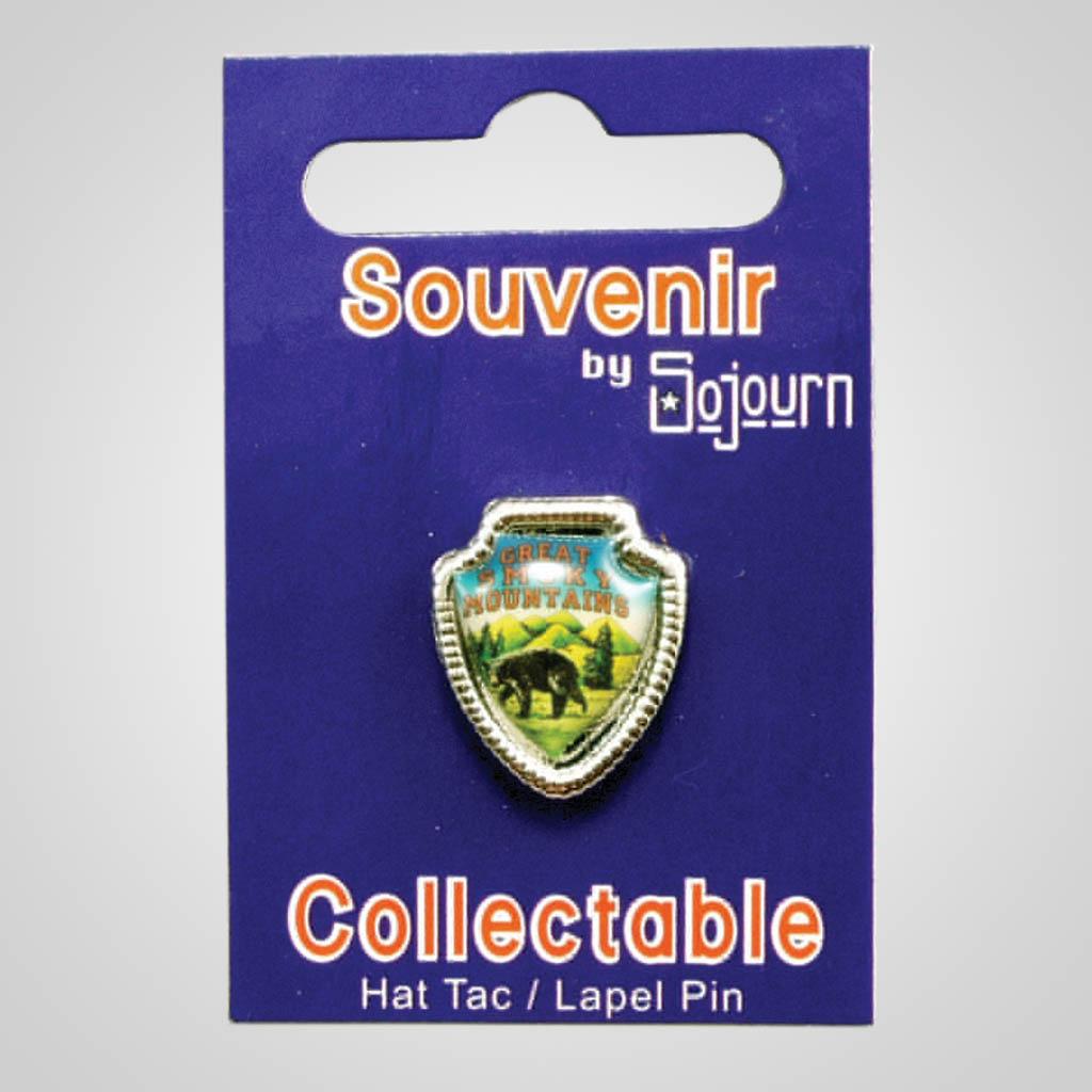 18916 - Shield Hat/Lapel Pin