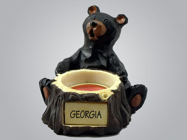 19043PP - Bear Tealight Holder