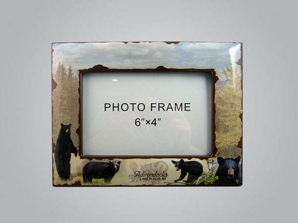 19211PP - Black Bear Photo Frame