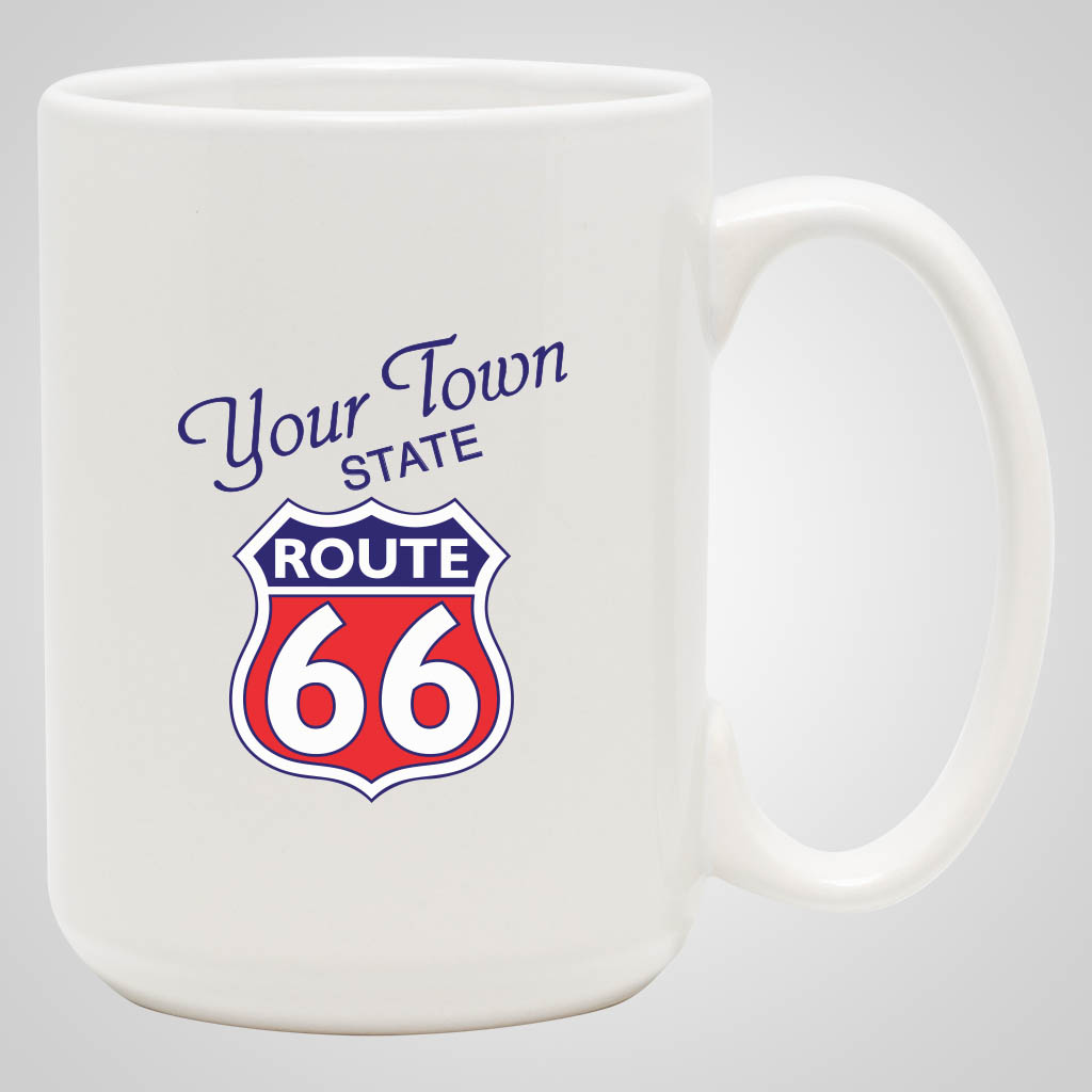 19233PPM - White 15 oz Mug, Multi-Color Print