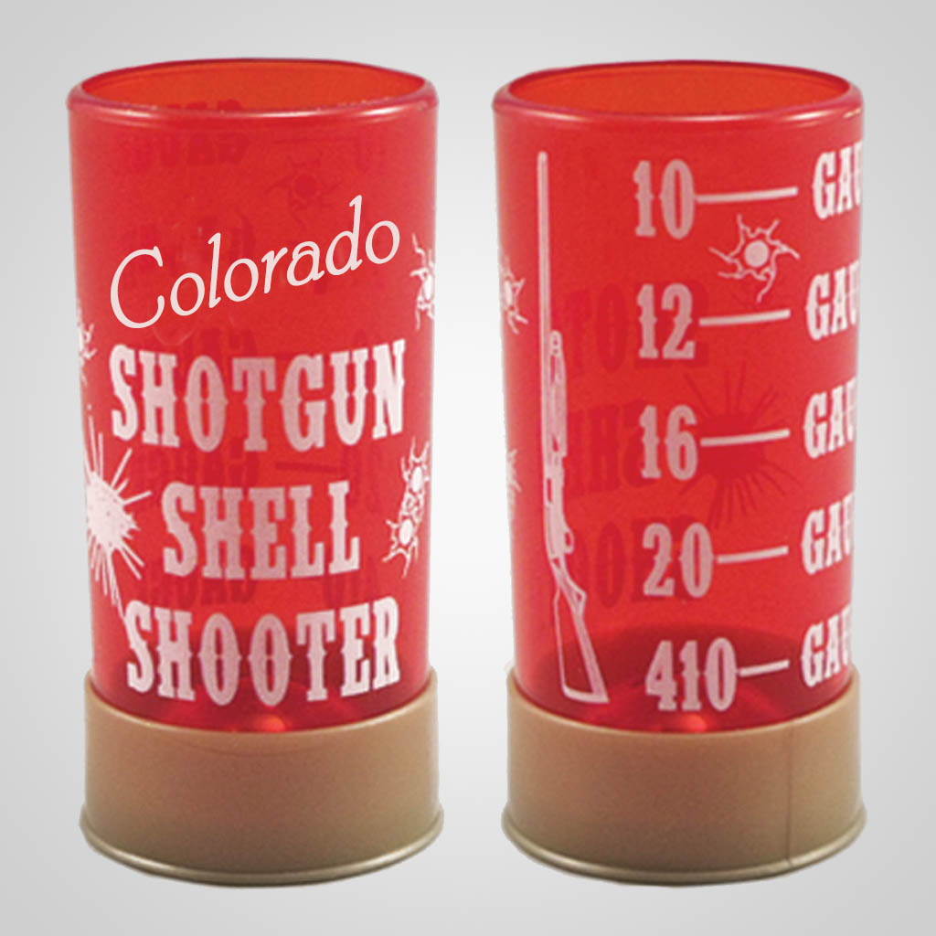 19286PP - Shotgun Shell Shot Glass, Name-Drop