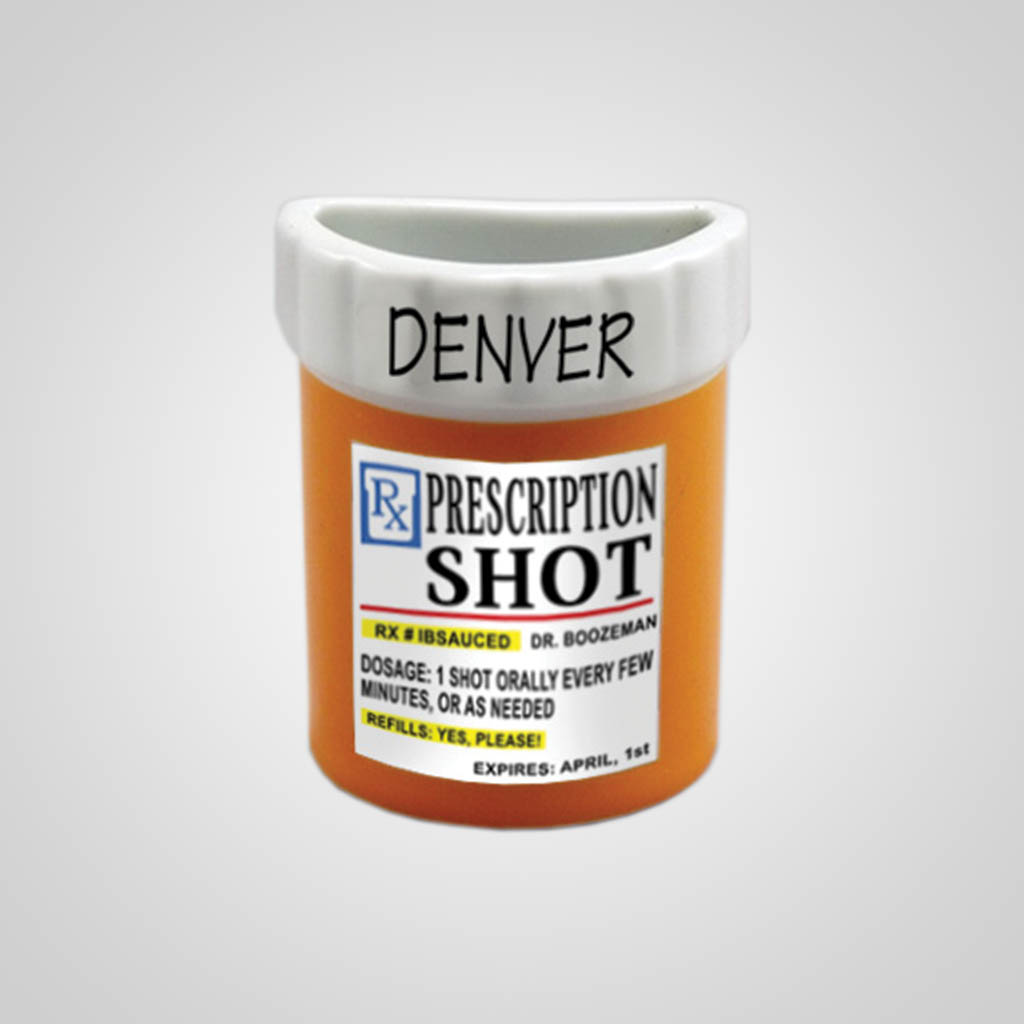 59302BR - Prescription Bottle Magnet - Imprinted