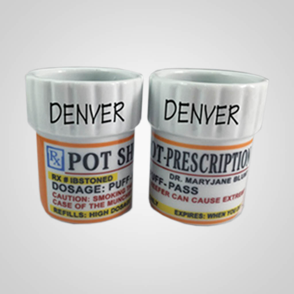 19305PP - Prescription Pot Shot Glass, Name-Drop