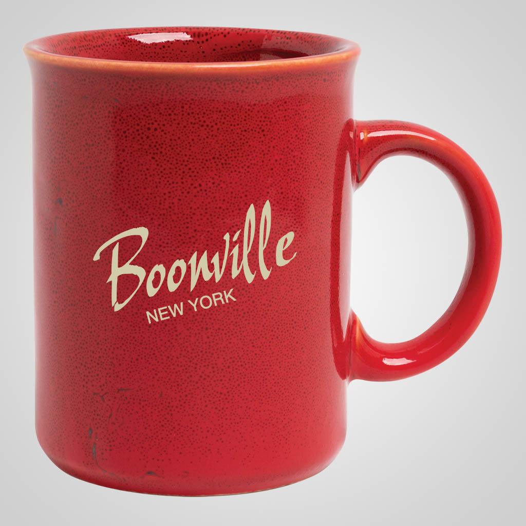19308PP - Red Glaze Mug, 1 Color Print
