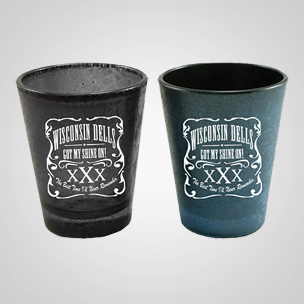 19480PP - Ice Crackle Shot Glass