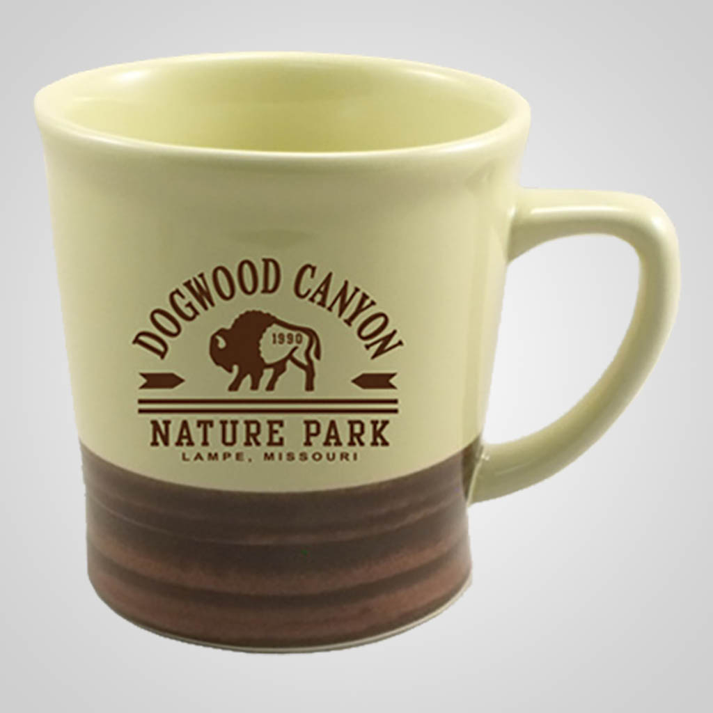 19490PP - Brown and Cream Mug