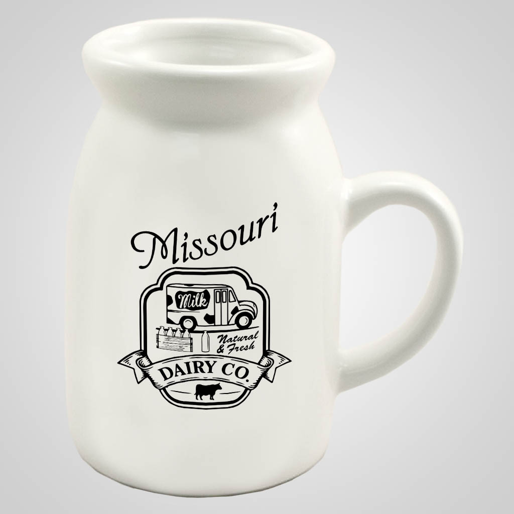 19491PP - Milk Bottle Mug - 1 Color Print