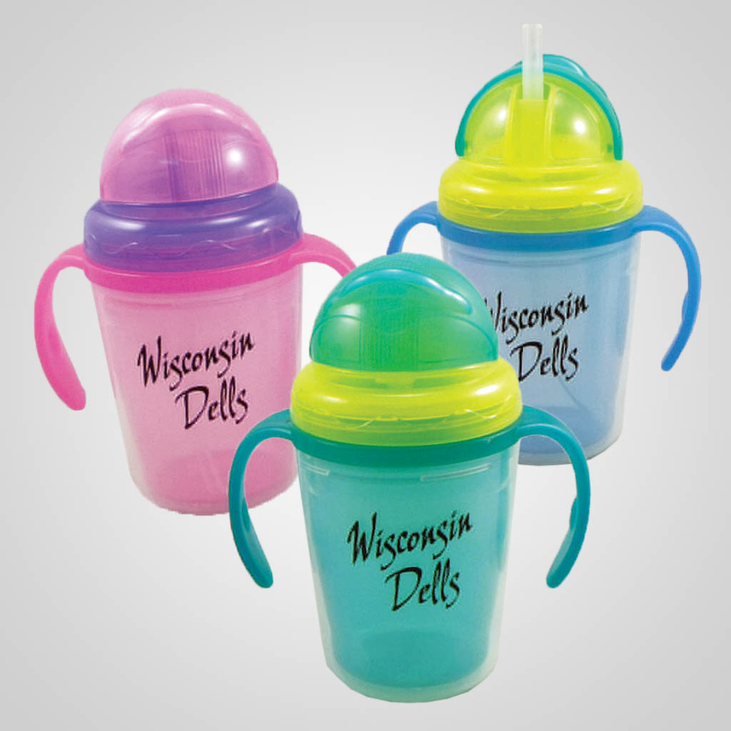 19493PP - 8oz. Sippy Cup - 1 Color Print