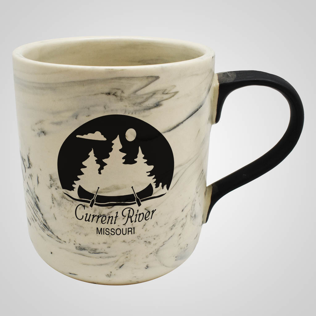 19531PP - Marble Swirl Mug, 1 Color Print