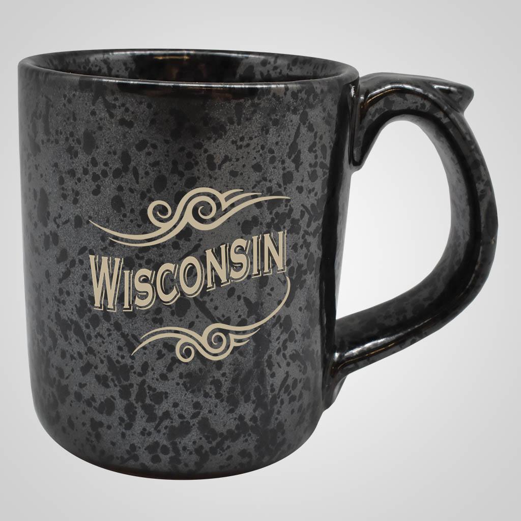 19535PP - Black Terracotta Mug