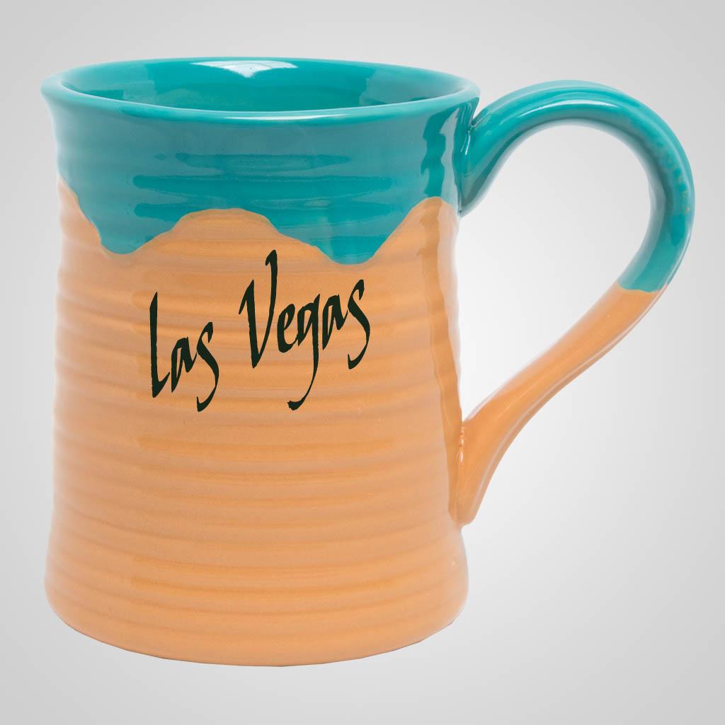 19545PP - Large Two-Tone Pottery Mug