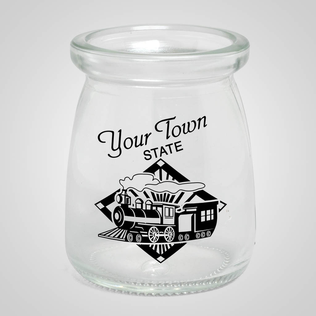 19548PP - Milk Jar Shot Glass - 1 Color Print