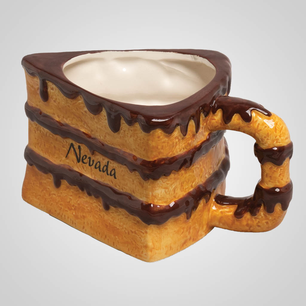 19555PP - Cake Slice Mug - Imprinted