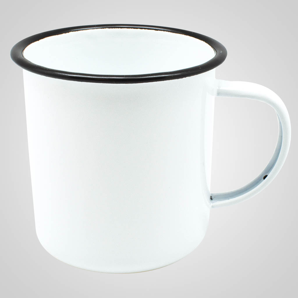 19563PPM - Enamelware Mug - Multi - Color Print