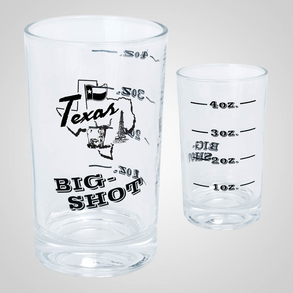 19707PP - Big-Shot 4oz Shot Glass, 1 Color Print