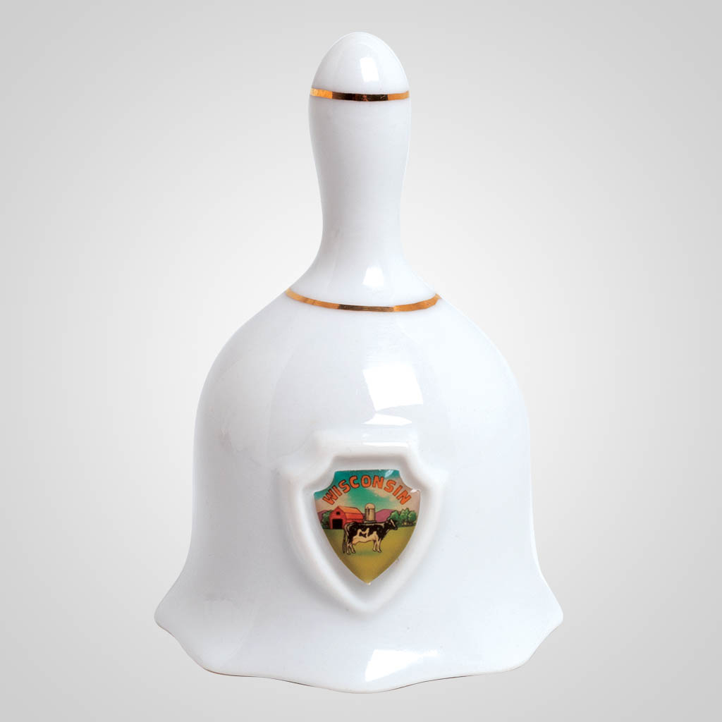19710 - Ceramic Bell w/Shield