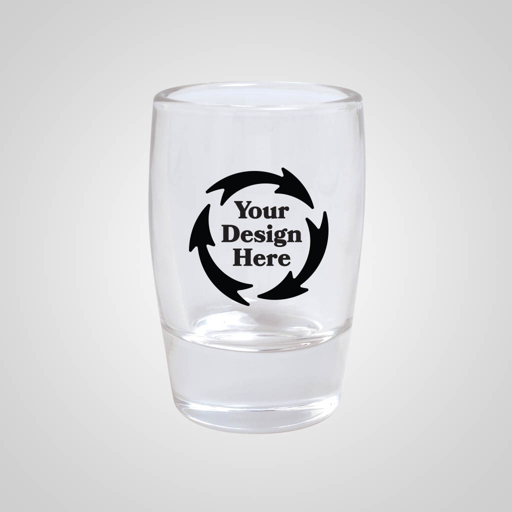 19715PP - Tapered Shot Glass, 1 color print