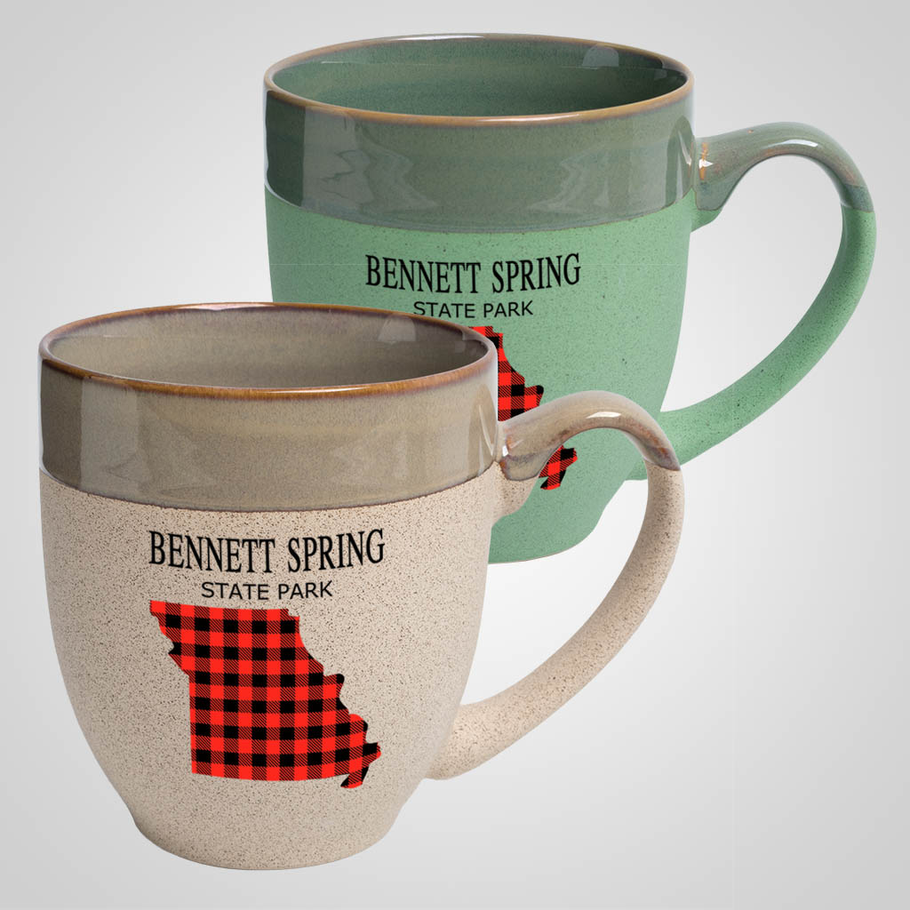 19721PPM - Two-Tone Tapered Mug, Multi Color Print