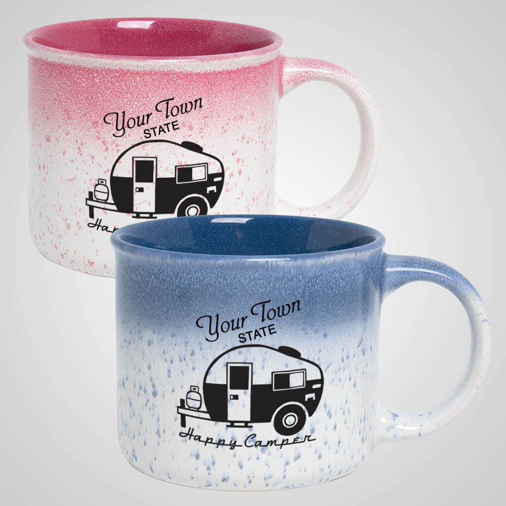 19724PP - Speckled Blend Camp Mug, 1 Color Print