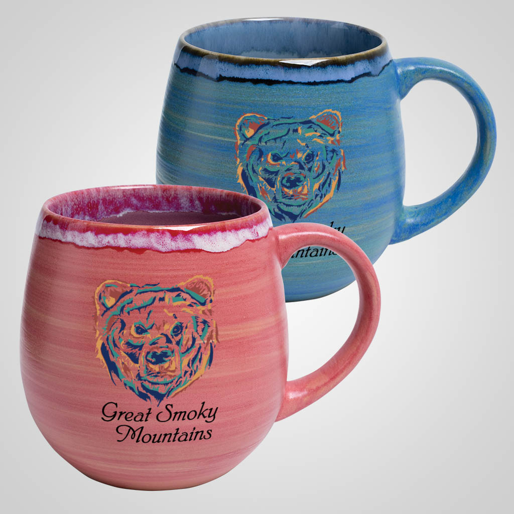 19726PPM - Chunky Rounded Mug, Multi-Color Print