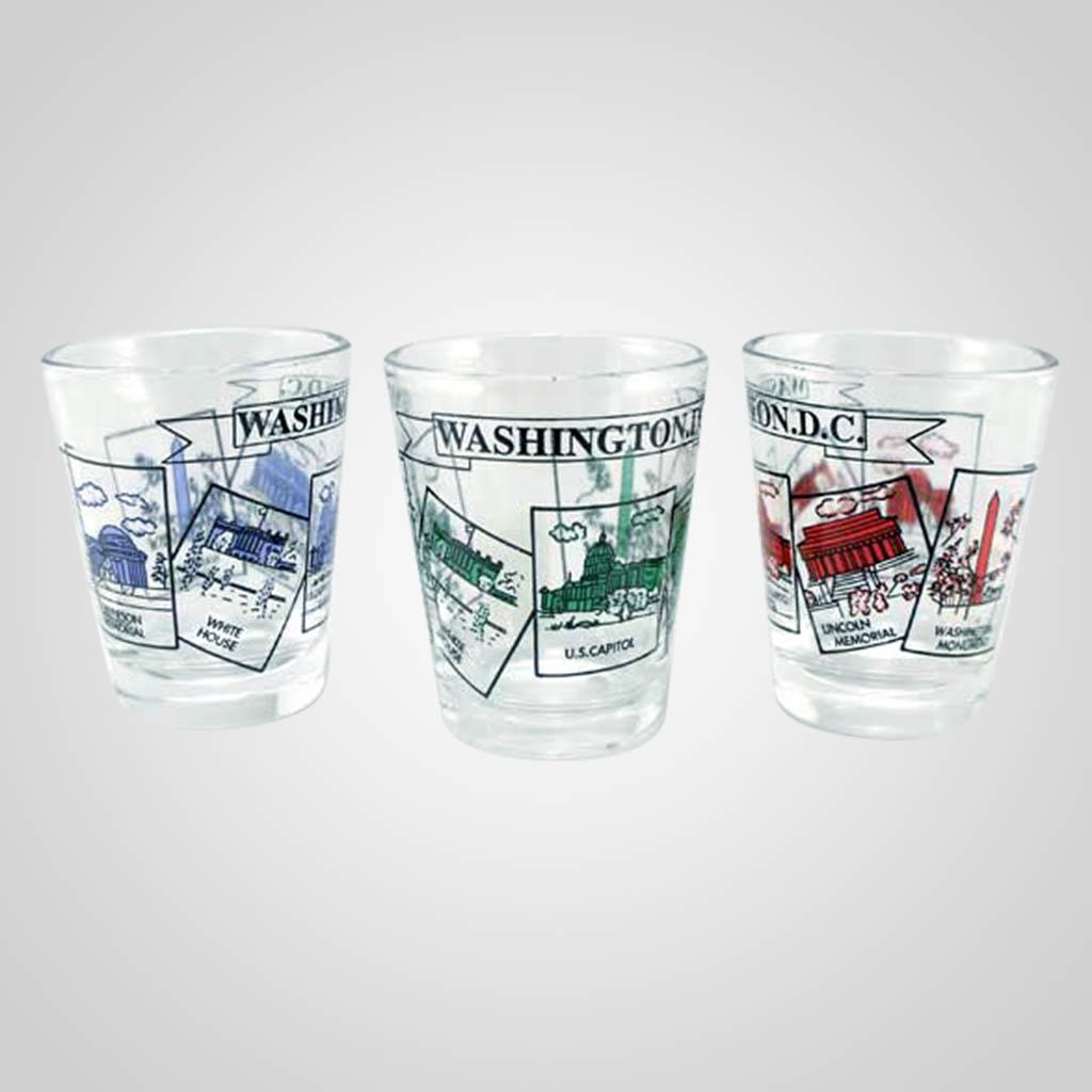 20021DC - Shot Glass, Washington DC Scenes