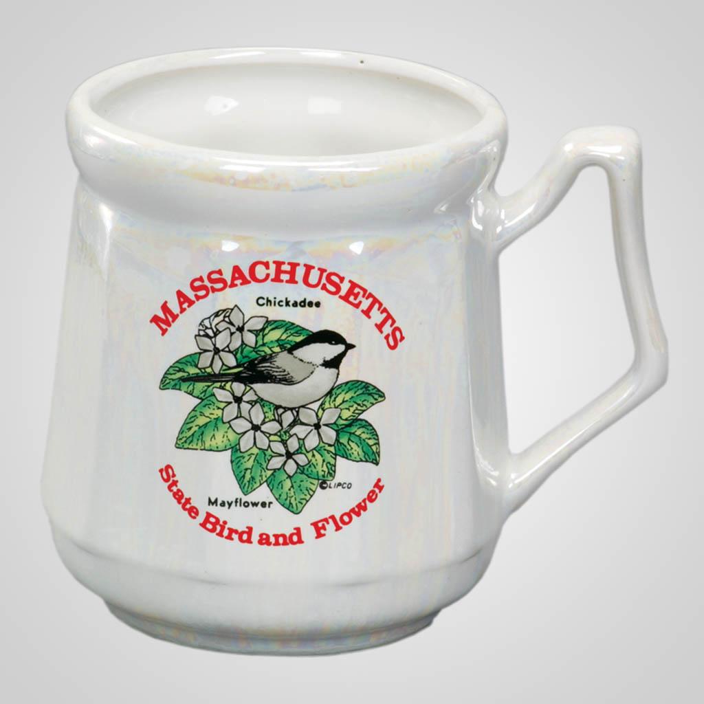 20261MA - Luster Massachusetts History Mug
