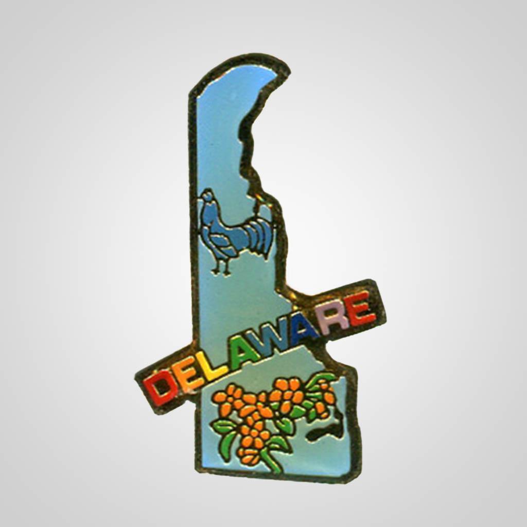 20329DE - Lapel/Hat Pin, Delaware