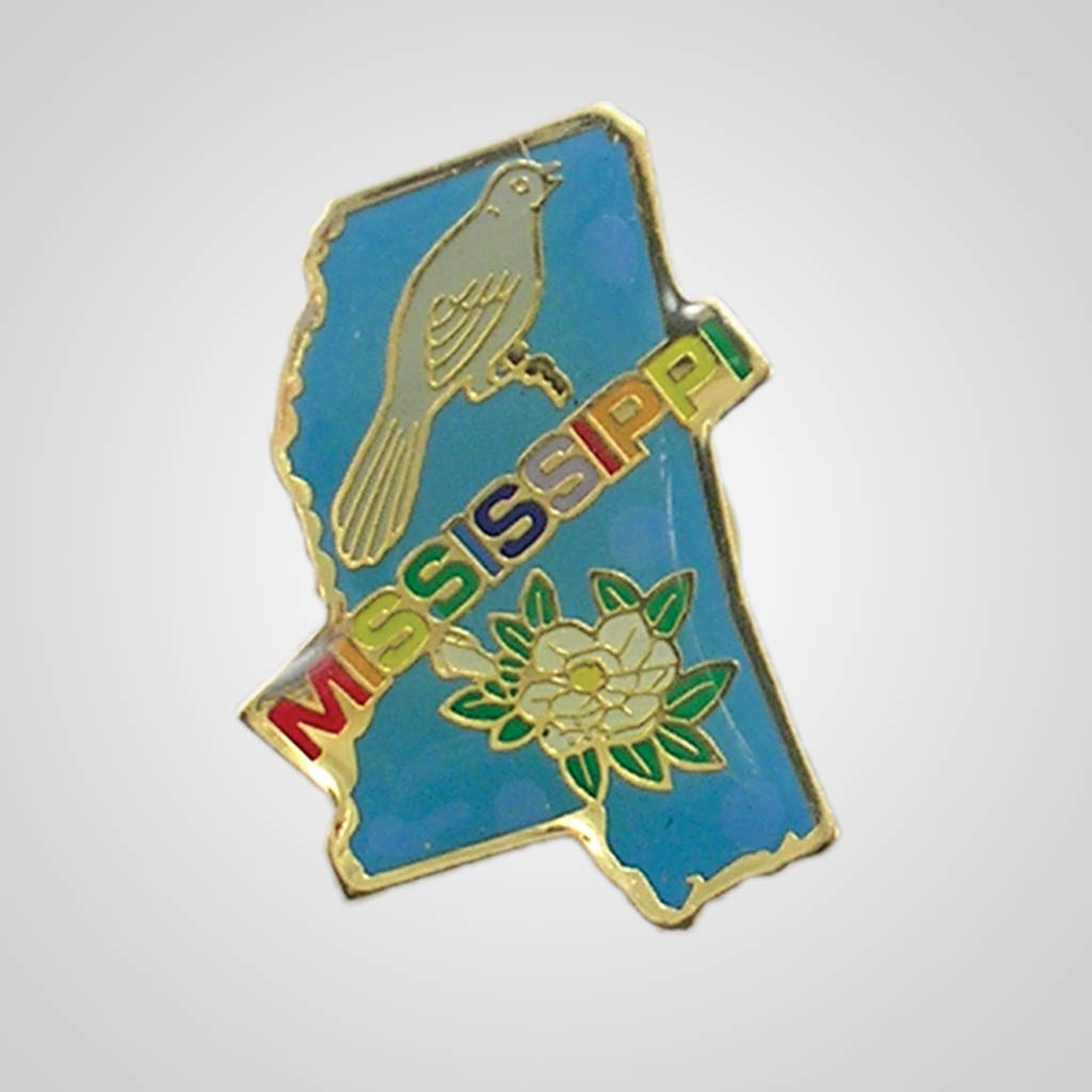 20329MS - Lapel/Hat Pin, Mississippi