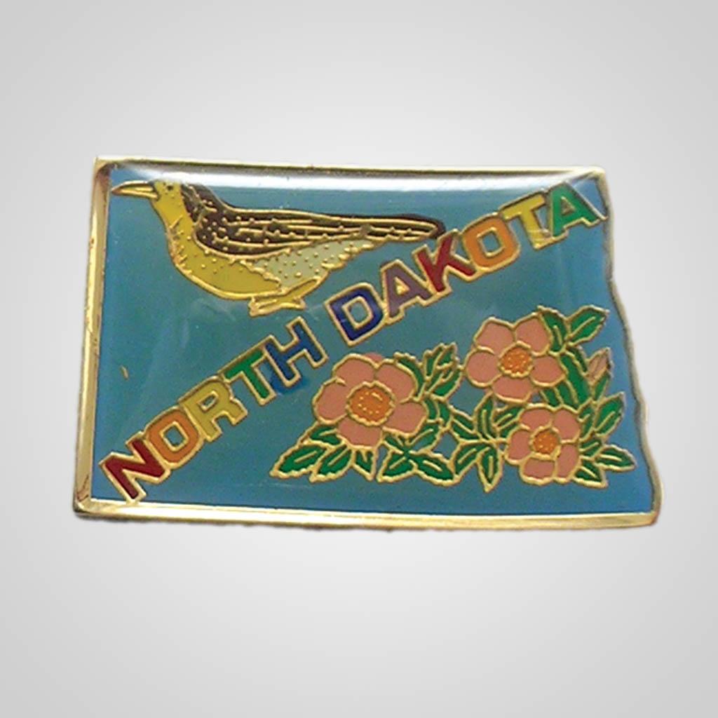 20329ND - Lapel/Hat Pin, North Dakota