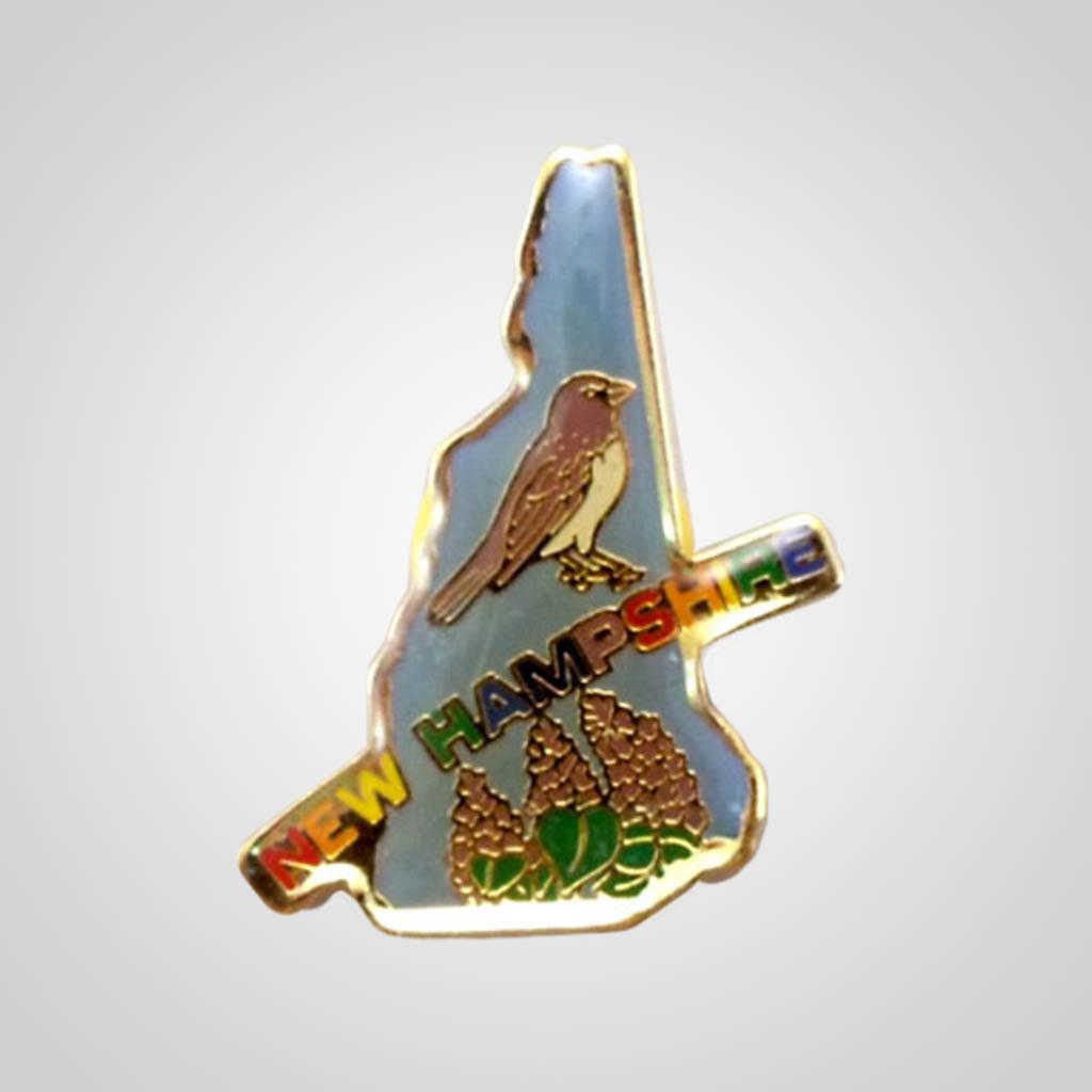 20329NH - Lapel/Hat Pin, New Hampshire
