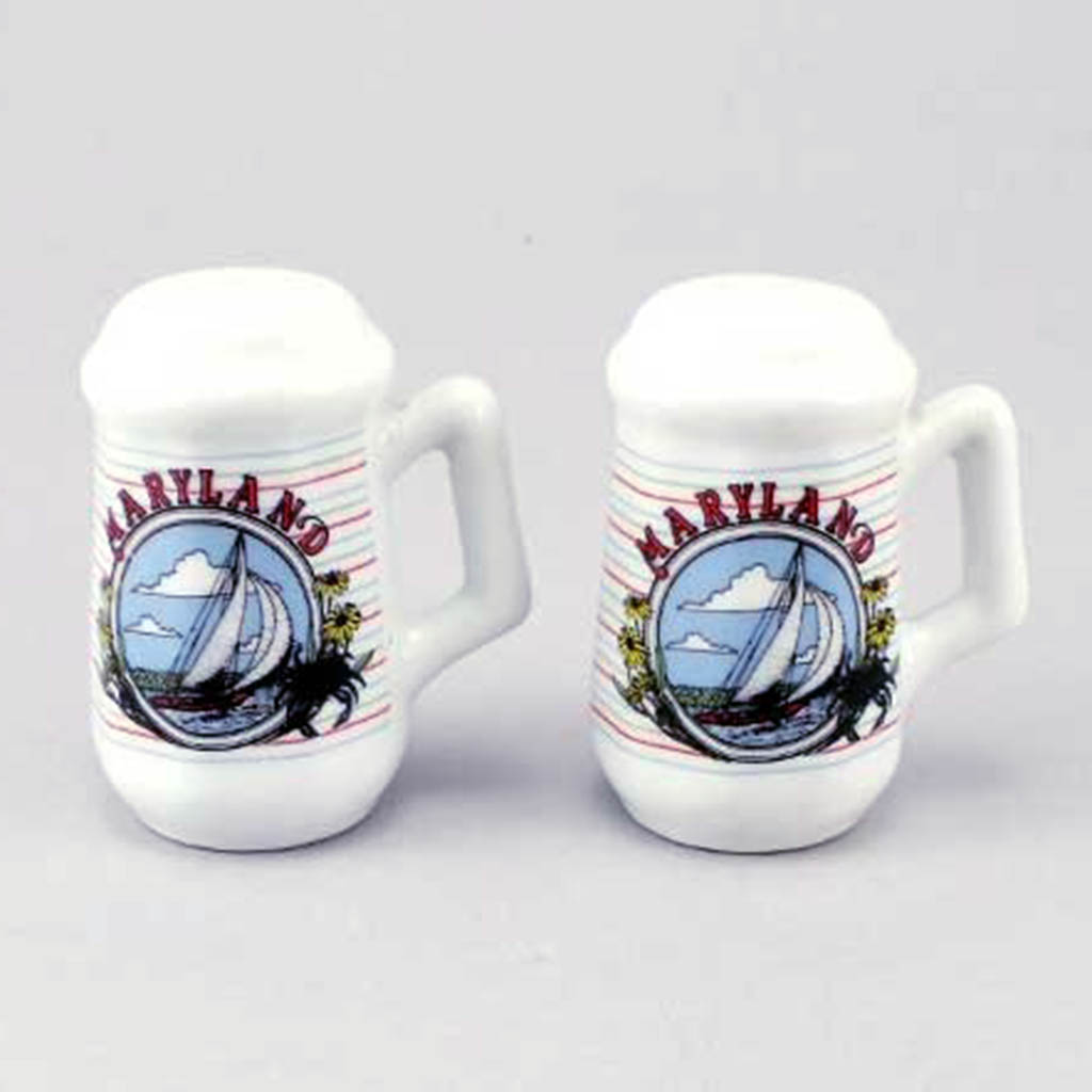 20435MD - Salt & Pepper Shakers, Maryland