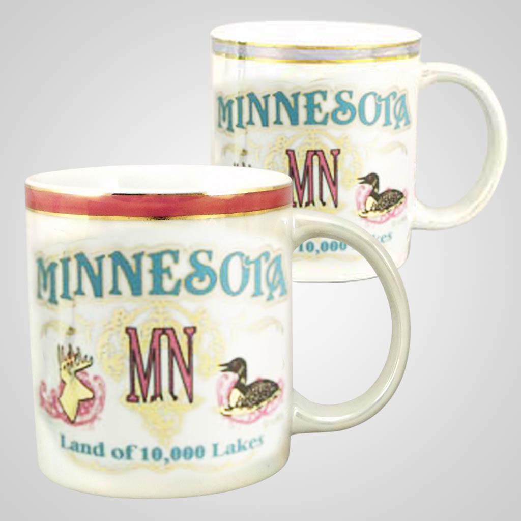 20461MN - Lustre Glazed Mug, Minnesota