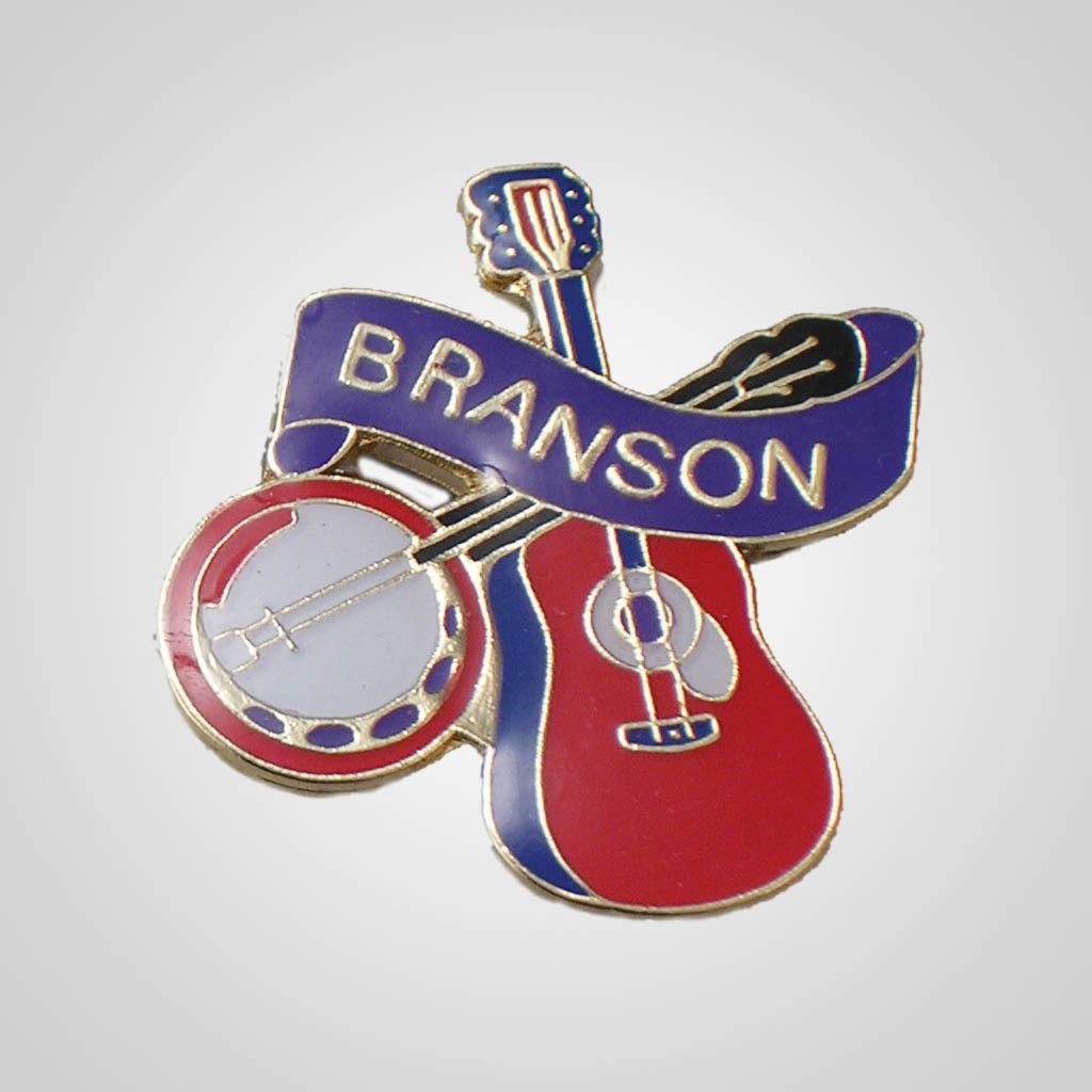 20587BR - Branson Guitar/Banjo Hat Pin